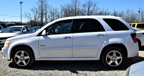 2008 Pontiac Torrent for sale at PINNACLE ROAD AUTOMOTIVE LLC in Moraine OH