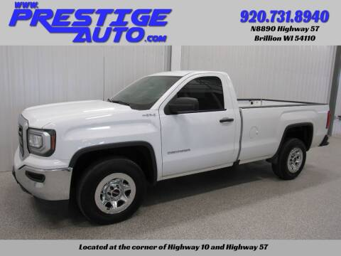 2018 GMC Sierra 1500 for sale at Prestige Auto Sales in Brillion WI