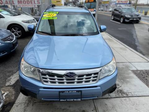 2011 Subaru Forester for sale at Middle Village Motors in Middle Village NY