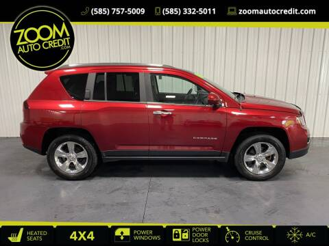 2015 Jeep Compass for sale at ZoomAutoCredit.com in Elba NY