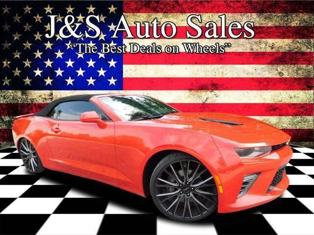 2017 Chevrolet Camaro for sale at J & S Auto Sales in Clarksville TN