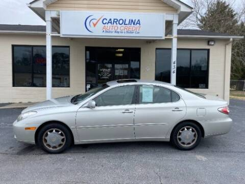 2003 Lexus ES 300 for sale at Carolina Auto Credit in Youngsville NC