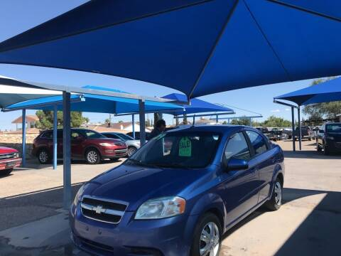2009 Chevrolet Aveo for sale at Autos Montes in Socorro TX