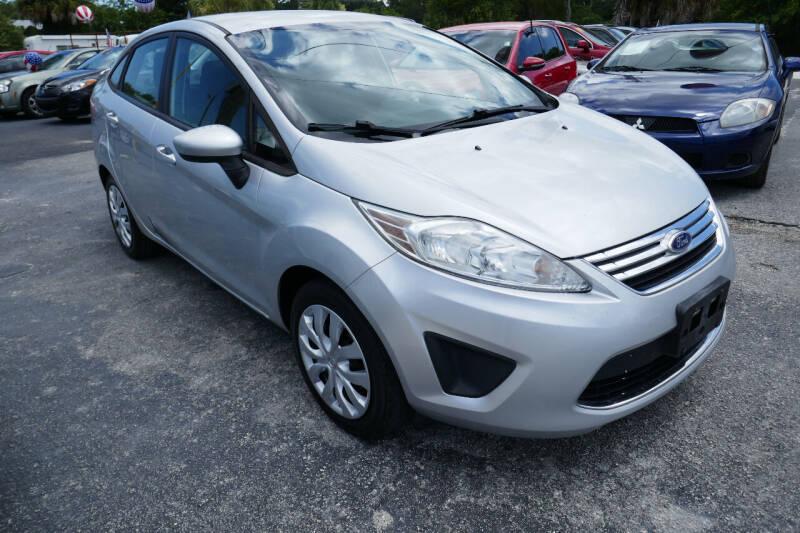 2012 Ford Fiesta for sale at J Linn Motors in Clearwater FL