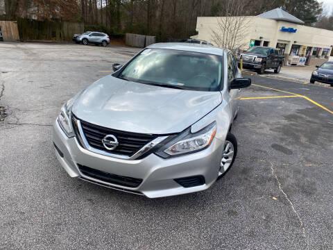 2016 Nissan Altima for sale at BRAVA AUTO BROKERS LLC in Clarkston GA