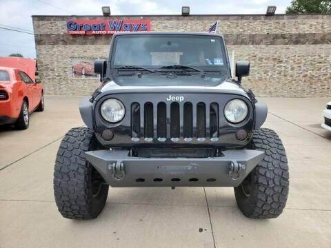 2010 Jeep Wrangler Unlimited for sale at Great Ways Auto Finance in Redford MI