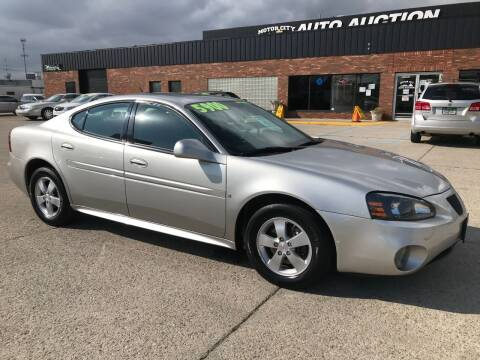 2008 Pontiac Grand Prix for sale at Motor City Auto Auction in Fraser MI