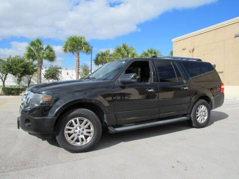 2014 Ford Expedition EL for sale at Easy Deal Auto Brokers in Hollywood FL