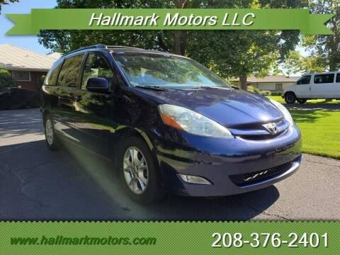 2006 Toyota Sienna for sale at HALLMARK MOTORS LLC in Boise ID