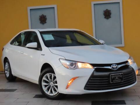 2017 Toyota Camry Hybrid for sale at Paradise Motor Sports LLC in Lexington KY
