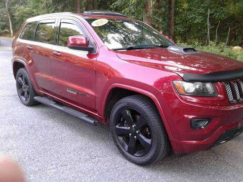 2015 Jeep Grand Cherokee for sale at ELIAS AUTO SALES in Allentown PA