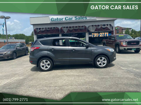 2015 Ford Escape for sale at Gator Car Sales in Picayune MS