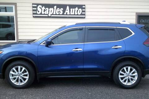 2018 Nissan Rogue for sale at STAPLES AUTO SALES in Staples MN