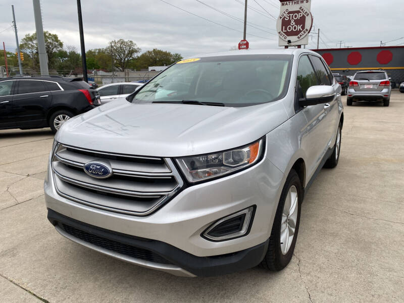 2015 Ford Edge for sale at Matthew's Stop & Look Auto Sales in Detroit MI
