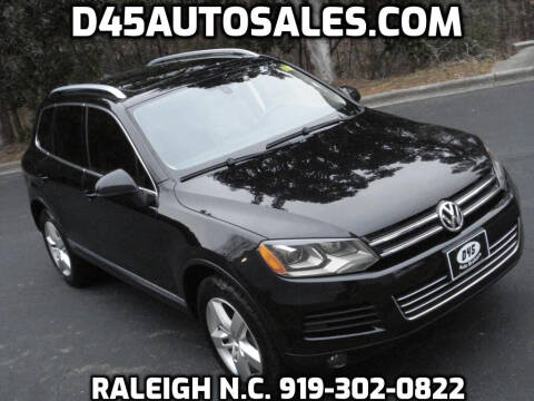2012 Volkswagen Touareg for sale at D45 Auto Brokers in Raleigh NC