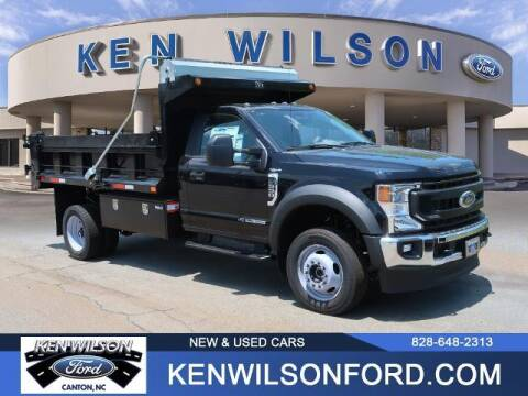 2021 Ford F-550 Super Duty for sale at Ken Wilson Ford in Canton NC