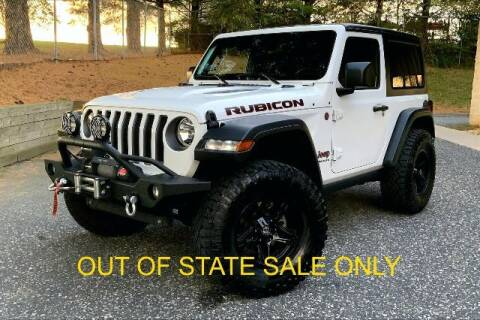 2018 Jeep Wrangler for sale at TRUST AUTO in Sykesville MD