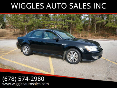 2008 Ford Taurus for sale at WIGGLES AUTO SALES INC in Mableton GA