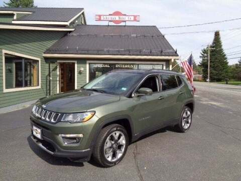 2019 Jeep Compass for sale at SCHURMAN MOTOR COMPANY in Lancaster NH