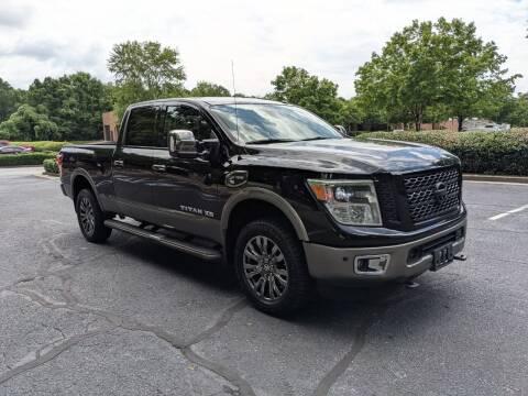 2016 Nissan Titan XD for sale at United Luxury Motors in Stone Mountain GA