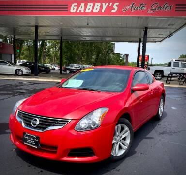 2012 Nissan Altima for sale at GABBY'S AUTO SALES in Valparaiso IN