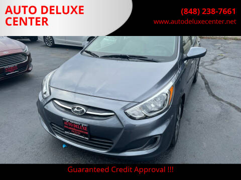 2017 Hyundai Accent for sale at AUTO DELUXE CENTER in Toms River NJ