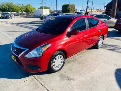 2017 Nissan Versa for sale at A AND A AUTO SALES in Gadsden AZ