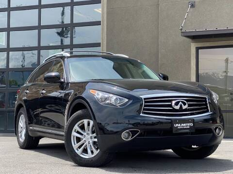 2013 Infiniti FX37 for sale at Unlimited Auto Sales in Salt Lake City UT