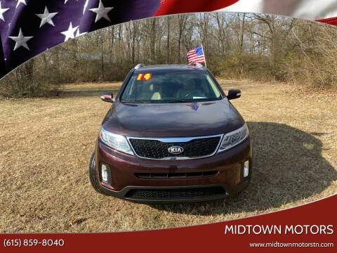2014 Kia Sorento for sale at Midtown Motors in Greenbrier TN