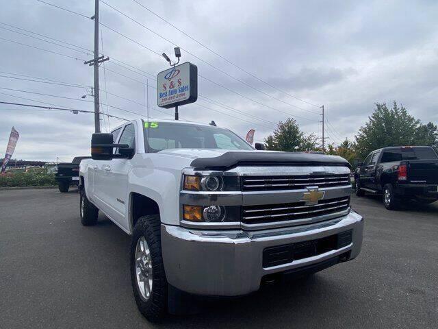 2015 Chevrolet Silverado 3500HD for sale at S&S Best Auto Sales LLC in Auburn WA