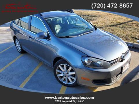 2012 Volkswagen Jetta for sale at Barton Auto Sales in Frederick CO