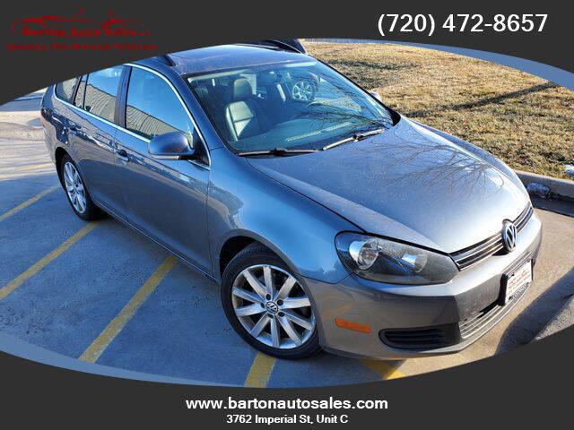 2012 Volkswagen Jetta for sale at Barton Auto Sales in Longmont CO