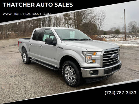 2017 Ford F-150 for sale at THATCHER AUTO SALES in Export PA