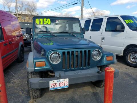 1997 Jeep Wrangler for sale at Nationwide Auto Group in Melrose Park IL