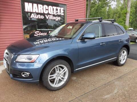 2016 Audi Q5 for sale at Marcotte & Sons Auto Village in North Ferrisburgh VT