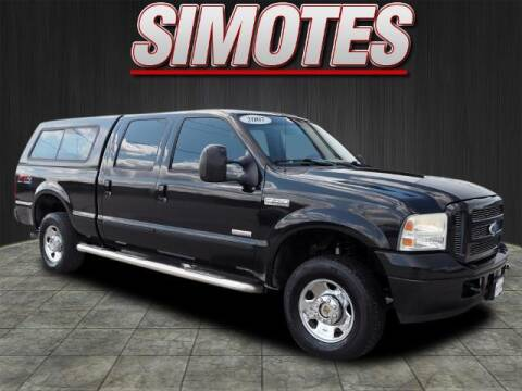 2007 Ford F-250 Super Duty for sale at SIMOTES MOTORS in Minooka IL