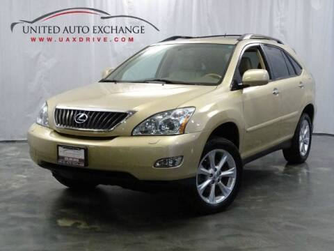 2009 Lexus RX 350 for sale at United Auto Exchange in Addison IL