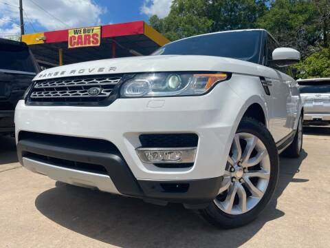 2014 Land Rover Range Rover Sport for sale at Cash Car Outlet in Mckinney TX