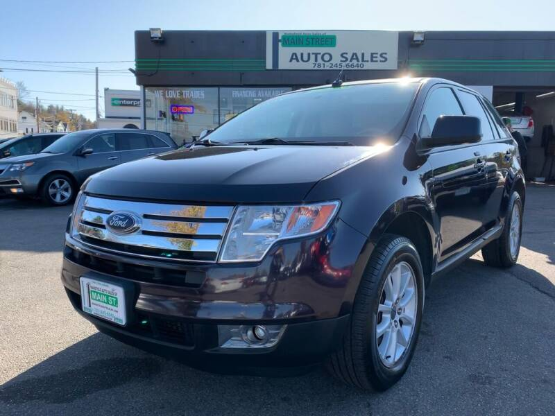 2007 Ford Edge for sale at Wakefield Auto Sales of Main Street Inc. in Wakefield MA