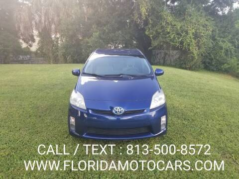2010 Toyota Prius for sale at Florida Motocars in Tampa FL
