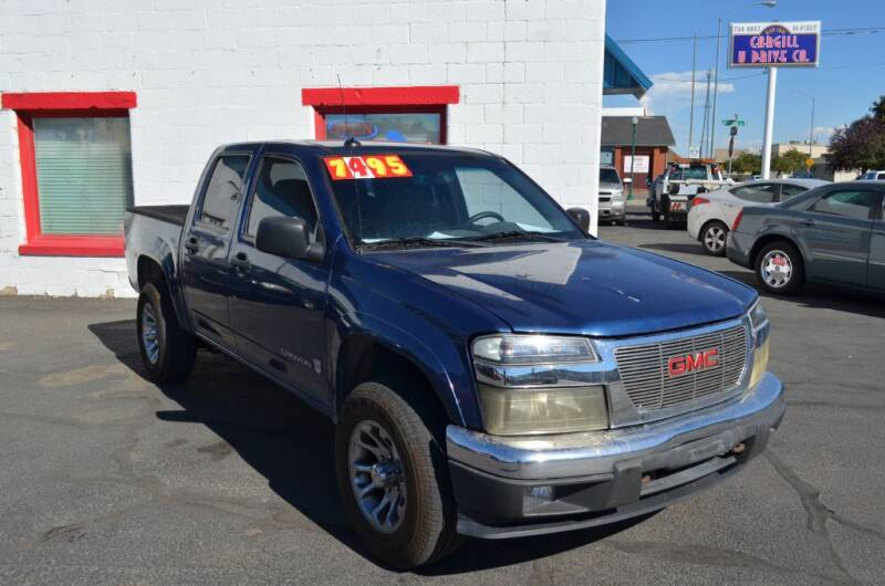 2005 GMC Canyon for sale at CARGILL U DRIVE USED CARS in Twin Falls ID