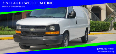 2015 Chevrolet Express Cargo for sale at K & O AUTO WHOLESALE INC in Jacksonville FL