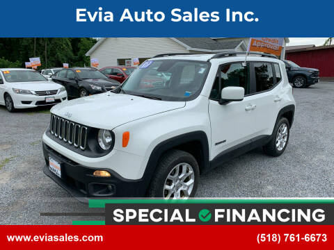 2017 Jeep Renegade for sale at Evia Auto Sales Inc. in Glens Falls NY