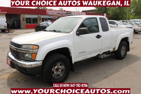 2005 Chevrolet Colorado for sale at Your Choice Autos - Waukegan in Waukegan IL