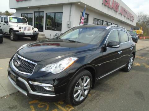 2017 Infiniti QX50 for sale at Island Auto Buyers in West Babylon NY