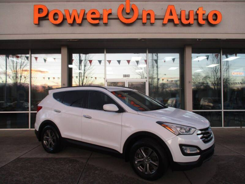 2014 Hyundai Santa Fe Sport for sale at Power On Auto LLC in Monroe NC