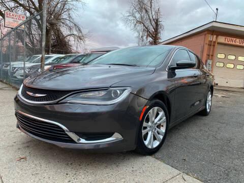 2015 Chrysler 200 for sale at Seaview Motors and Repair LLC in Bridgeport CT