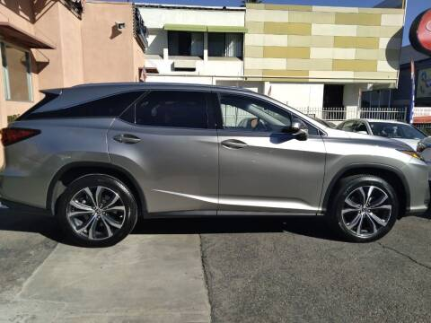 2018 Lexus RX 350L for sale at Western Motors Inc in Los Angeles CA