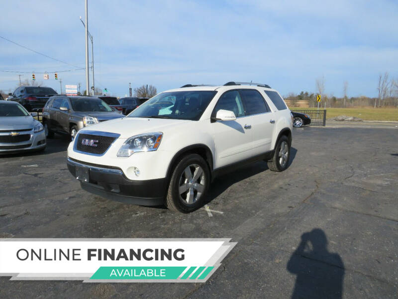 2012 GMC Acadia for sale at A to Z Auto Financing in Waterford MI