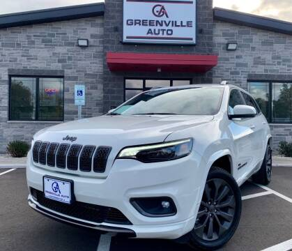 2019 Jeep Cherokee for sale at GREENVILLE AUTO & RV in Greenville WI